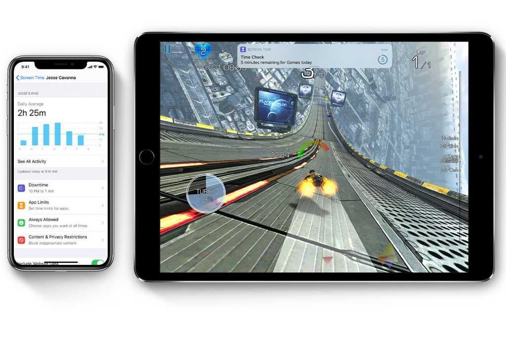 ios13 ipad pro iphone xs screentime