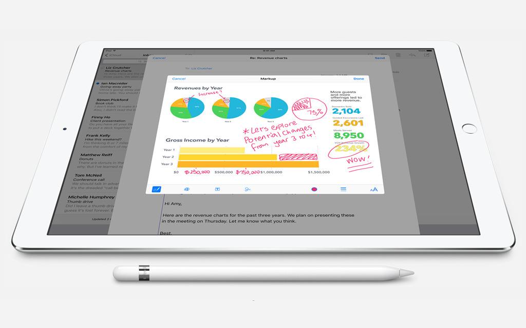 ipad pro pencil notes stock2
