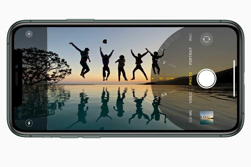 iphone 11 camera ui