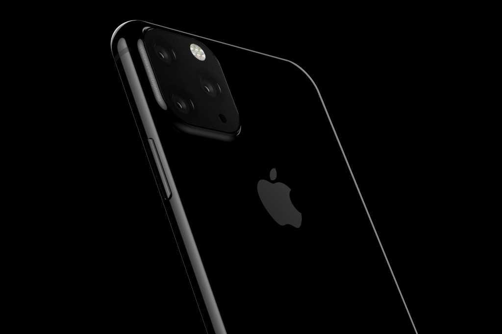 iphone 2019 rumor render