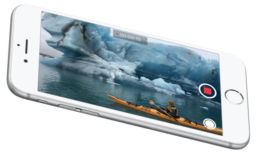 iphone 6s camera 4k