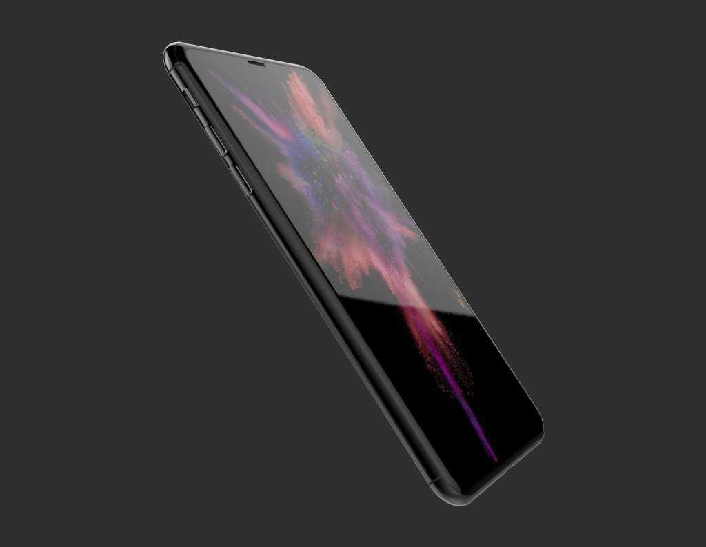 iphone 8 oled edge to edge display