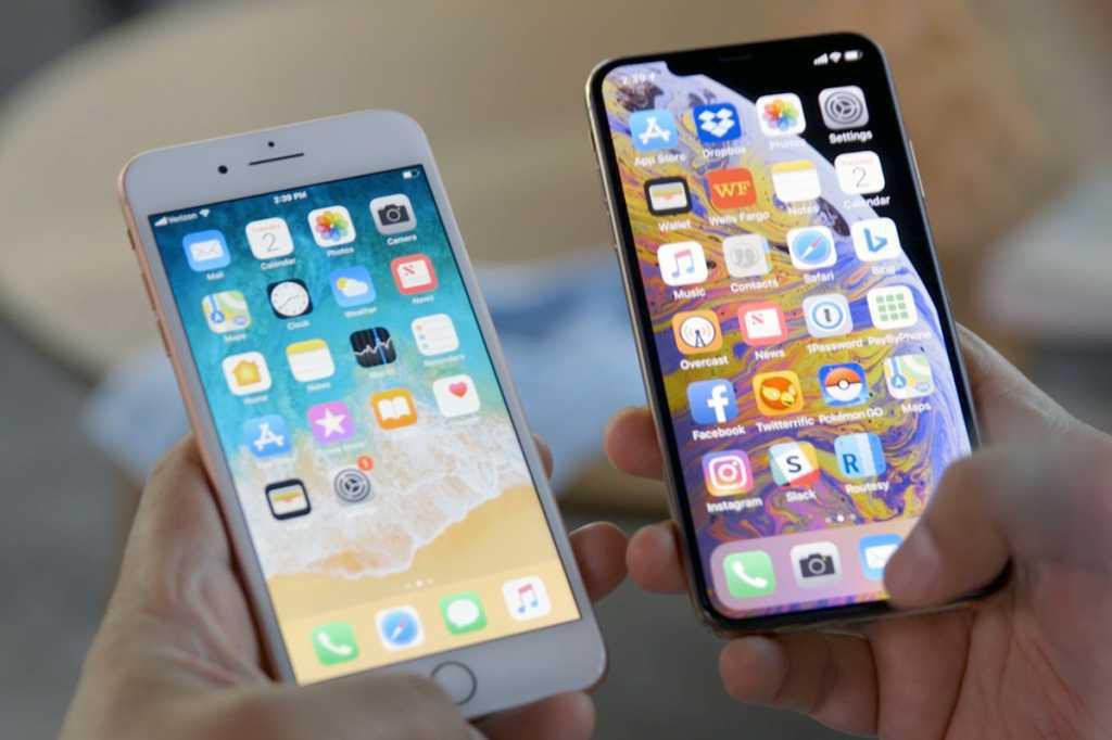 iphone 8 plus iphone xs max