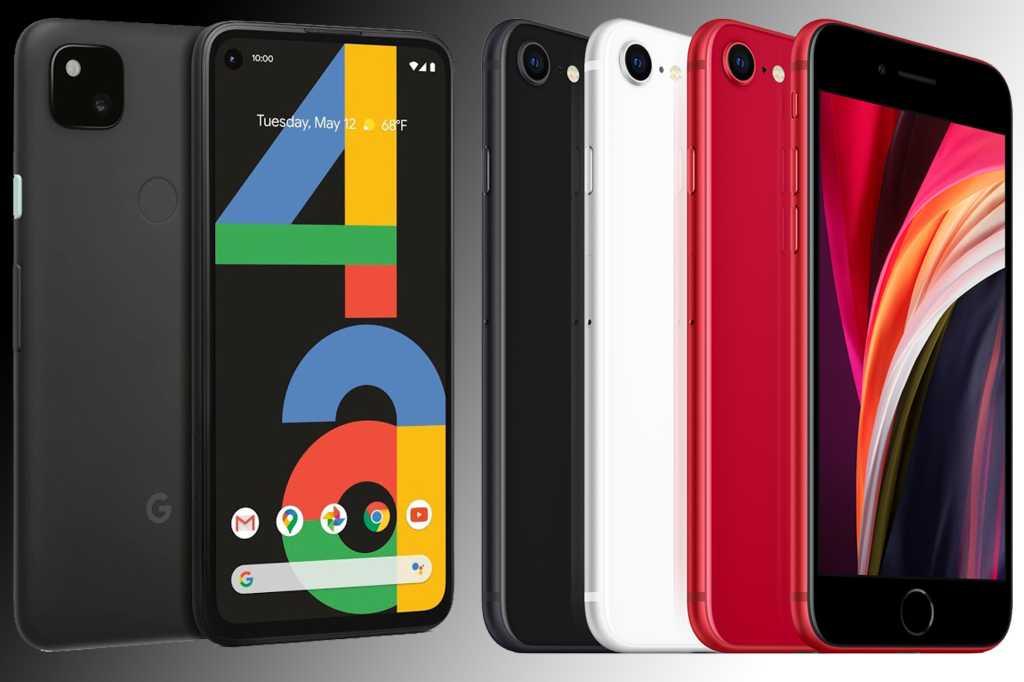 iphone se pixel 4a