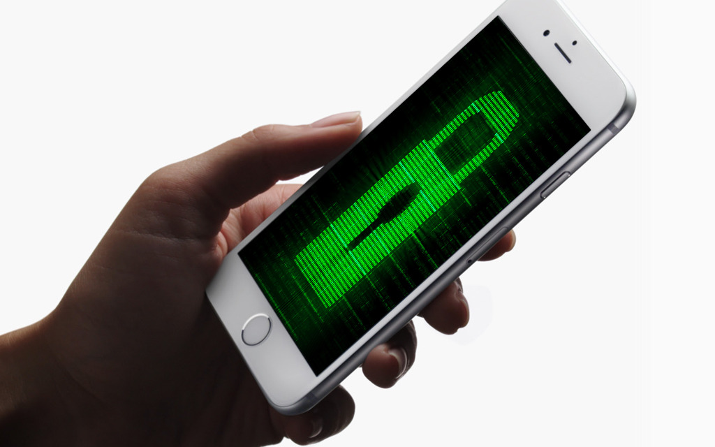 iphone security stock