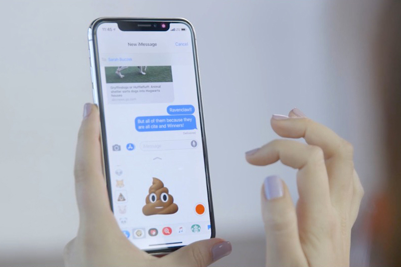 iphone x messages