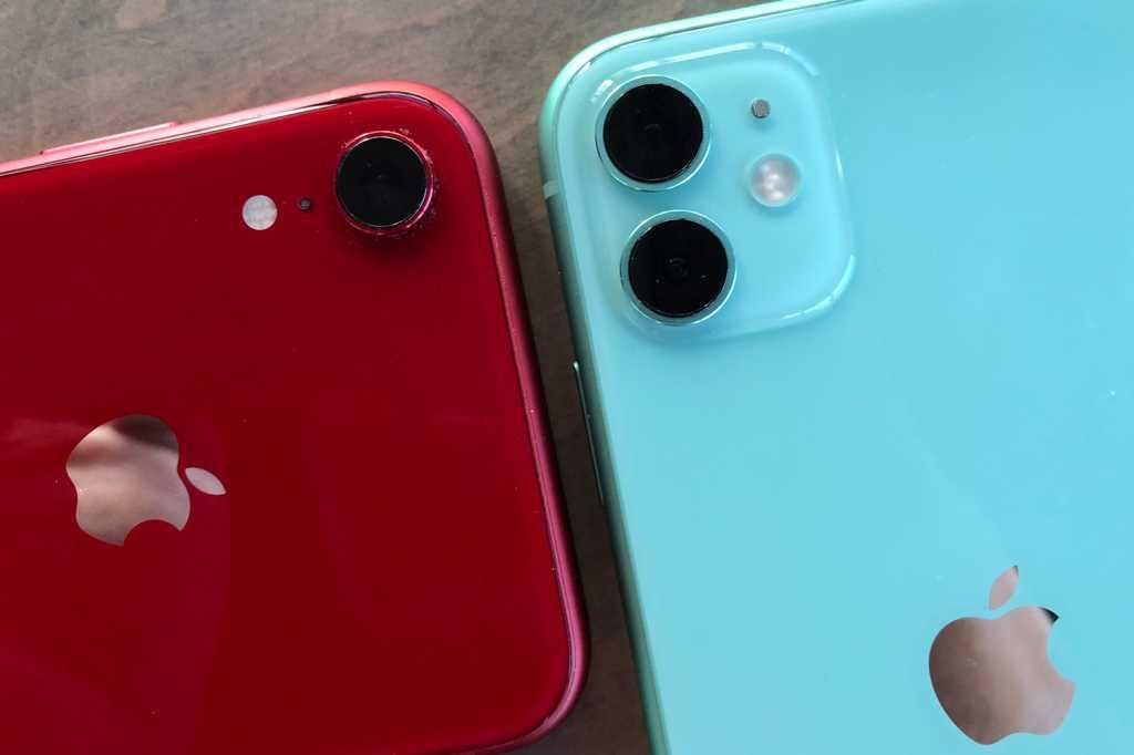 iphone xr iphone 11 cameras