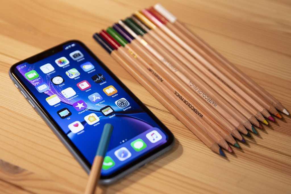 iphone xr pencils