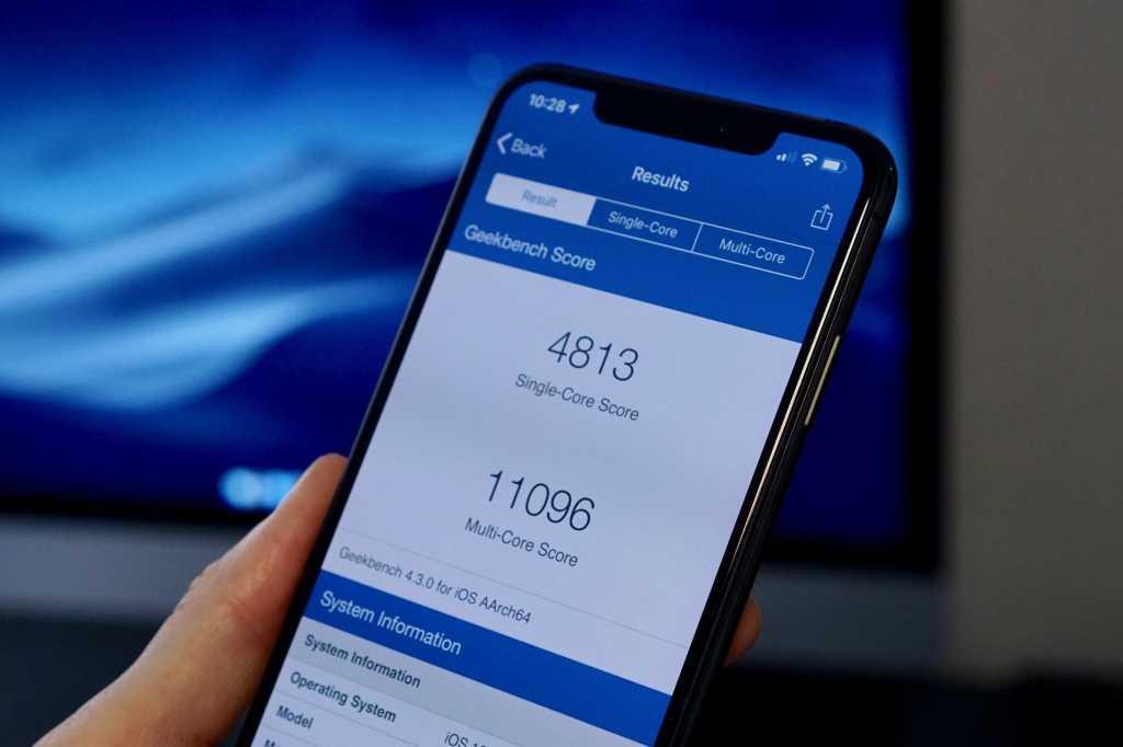 iphone xs benchmarks hero