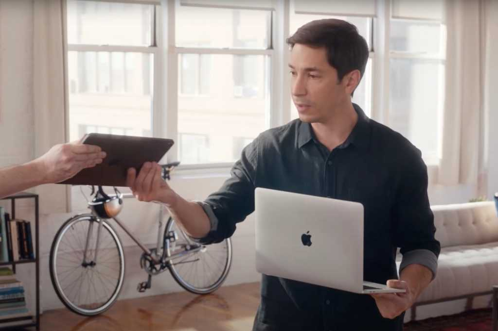 Justin Long Go PC commercial