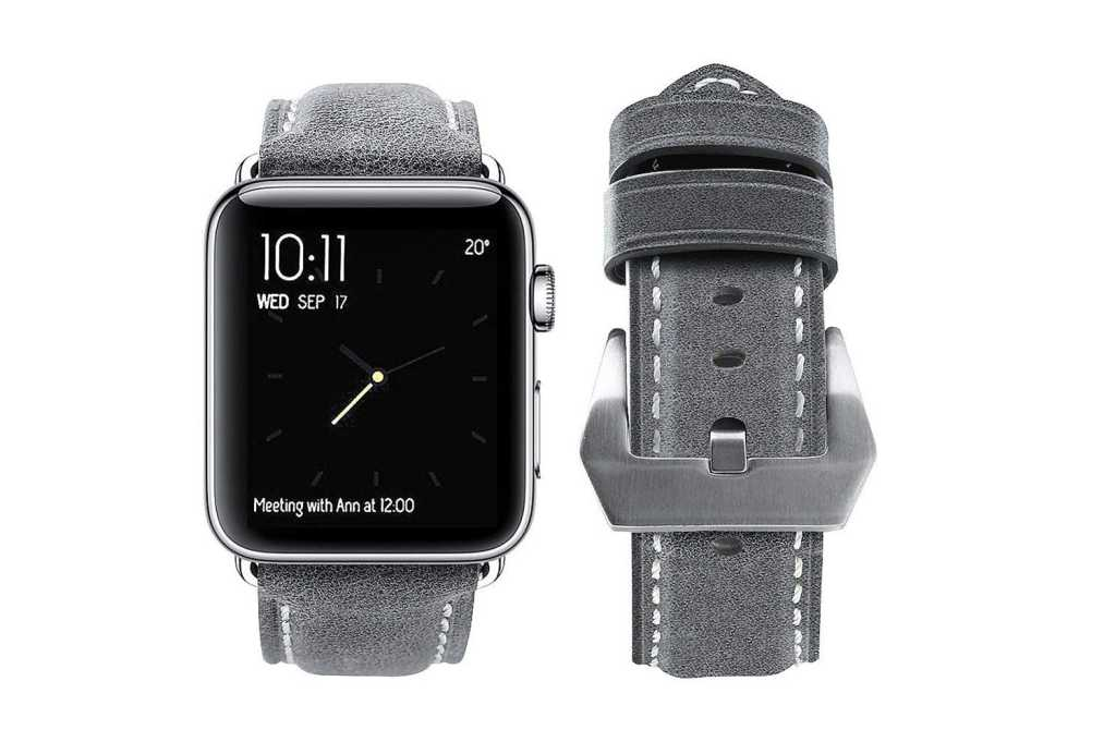 leather apple watch band cropped