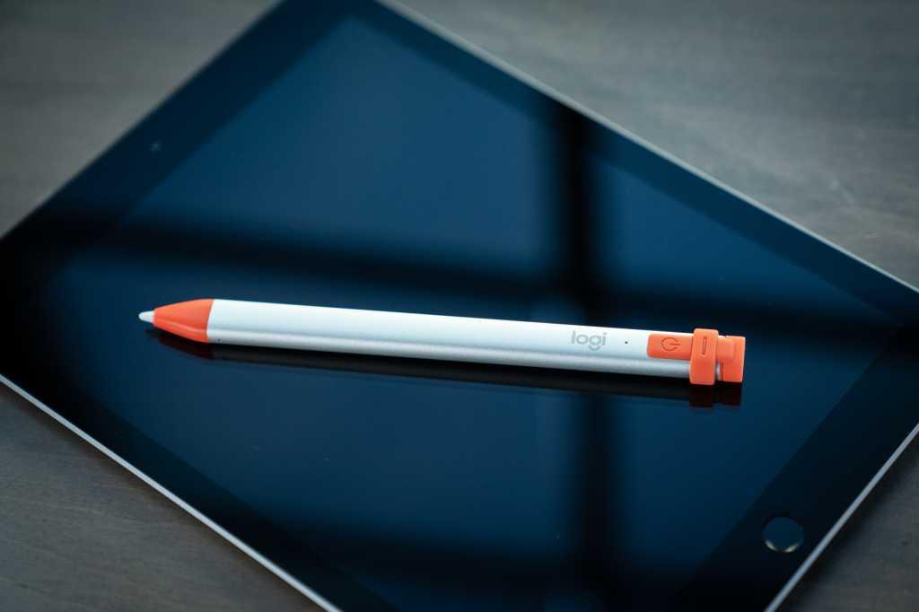 logitech crayon with 2018 ipad