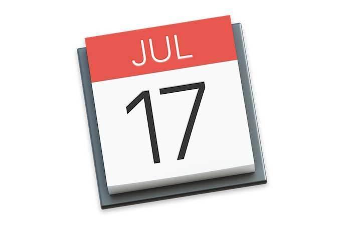 mac calendar icon