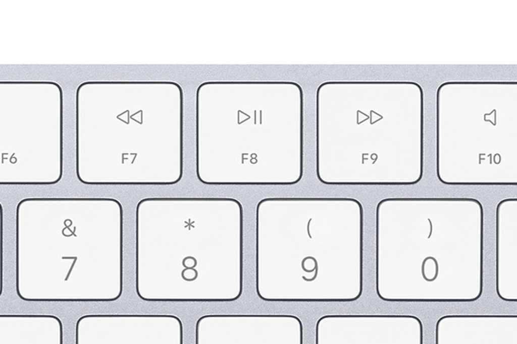 mac keyboard play pause