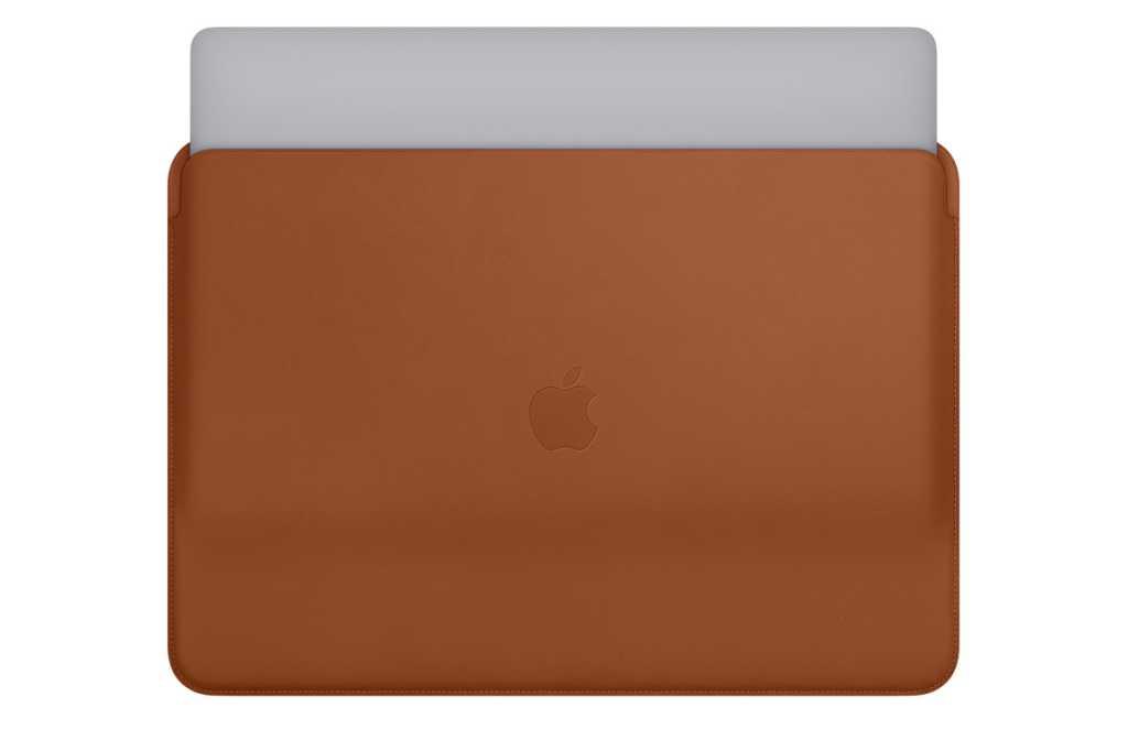 macbook pro leather sleeve 2018 stock