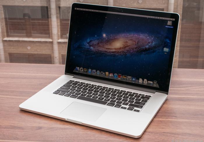 macbook pro 2012 with retina display