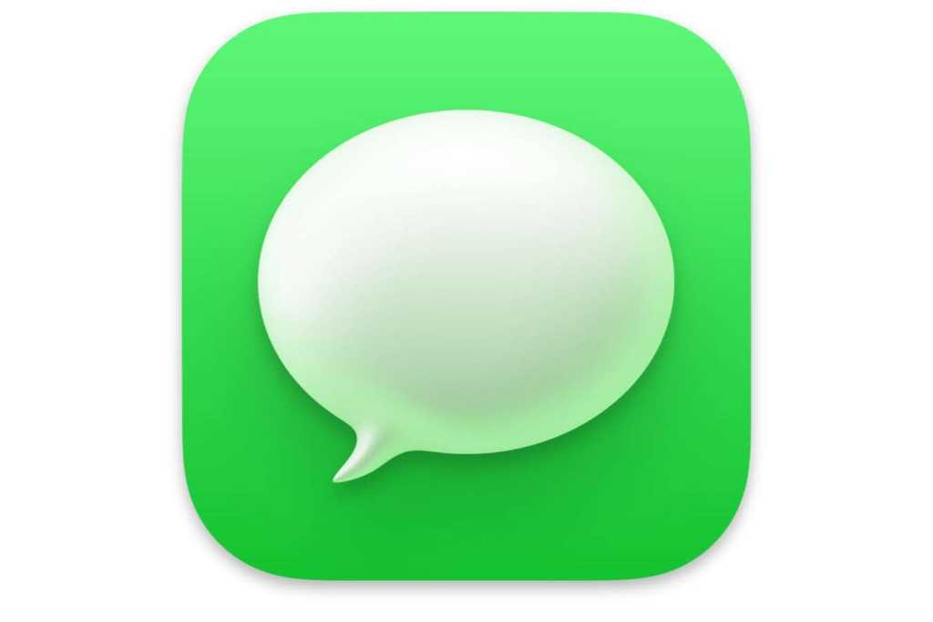 macos big sur messages icon