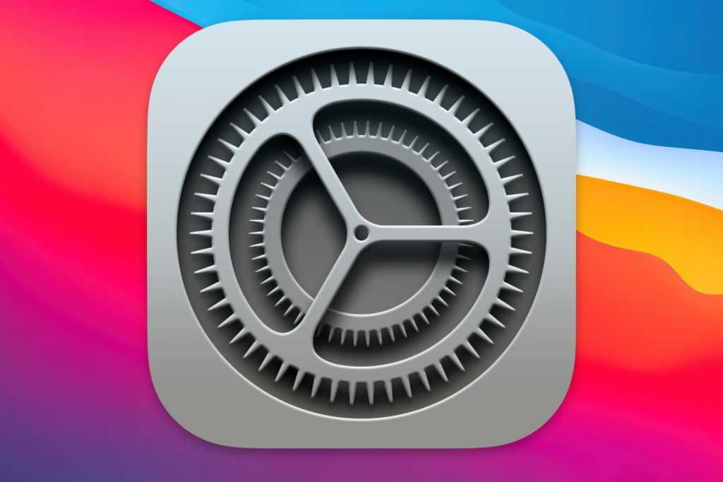 macOS System Preferences