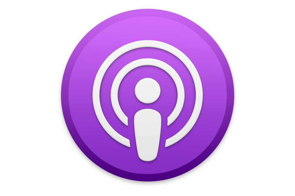 macos catalina podcast icon