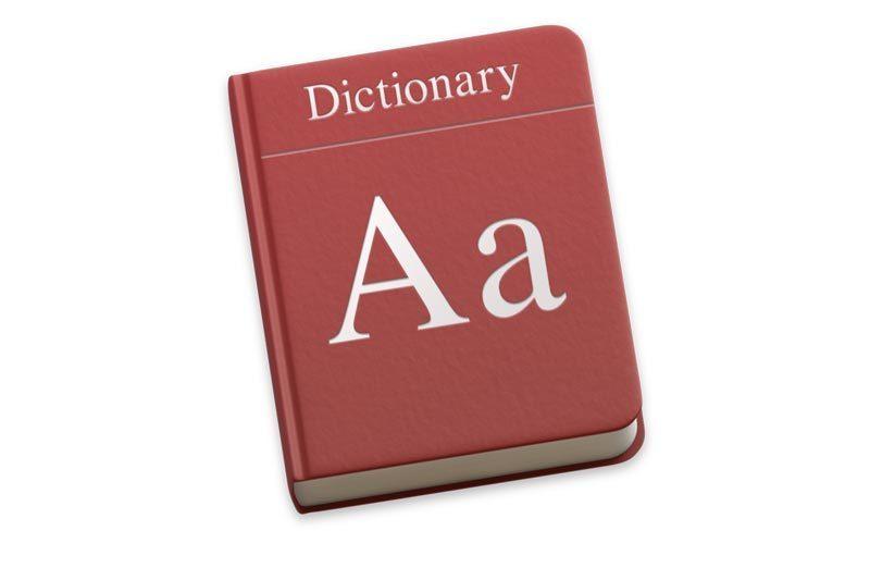 macos sierra dictionary icon