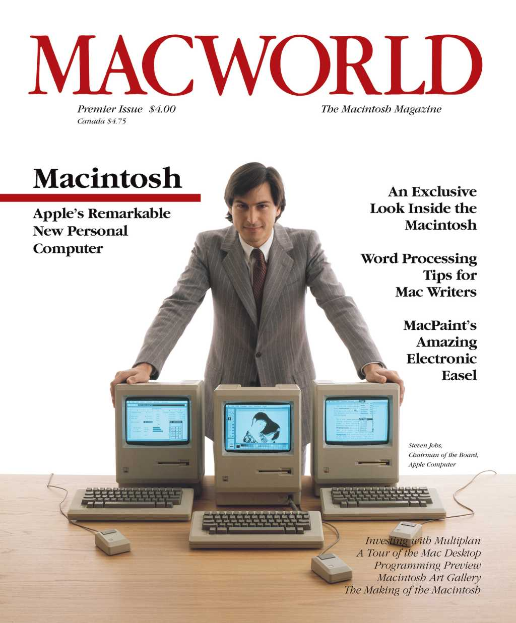 First cover of Macworld