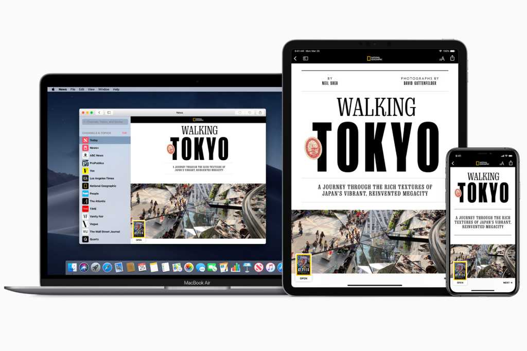 news plus macbook iphone ipad