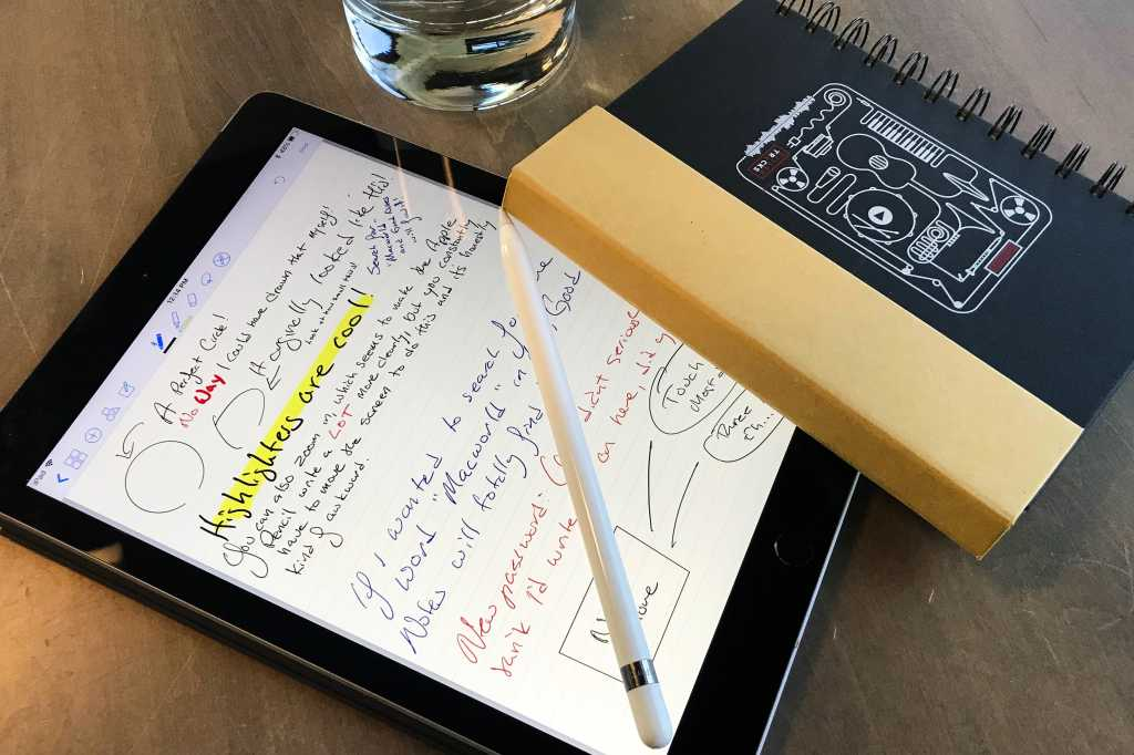 GoodNotes on 9.7-inch iPad
