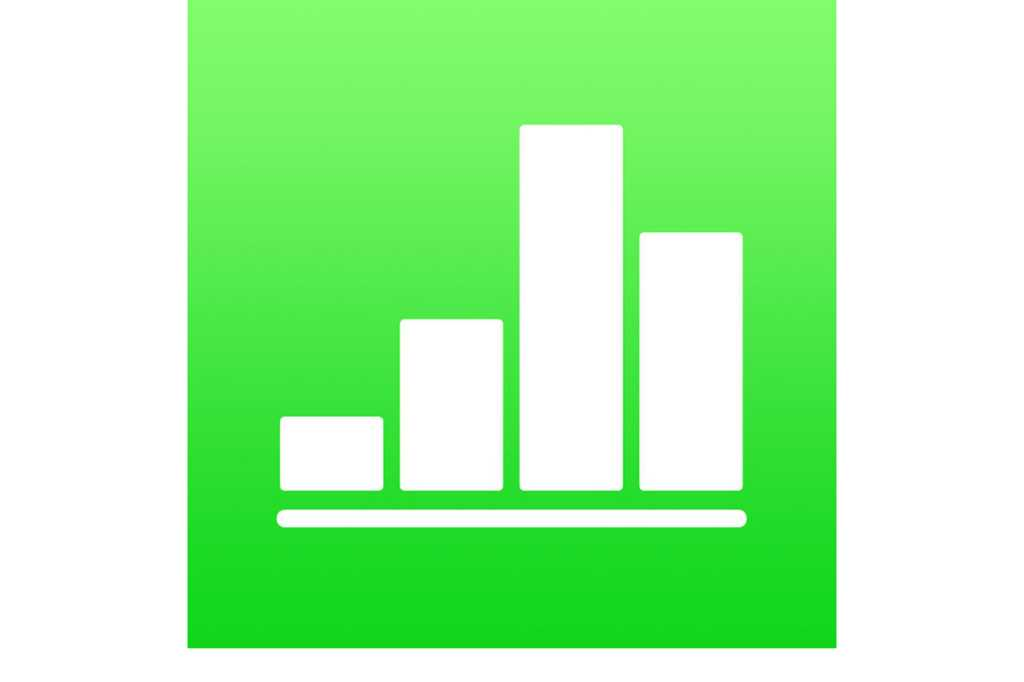 numbers 4 ios icon