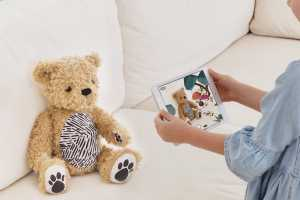 Parker: Your Augmented Reality Bear is an adorable plush toy that doesn't overwhelm with tech
