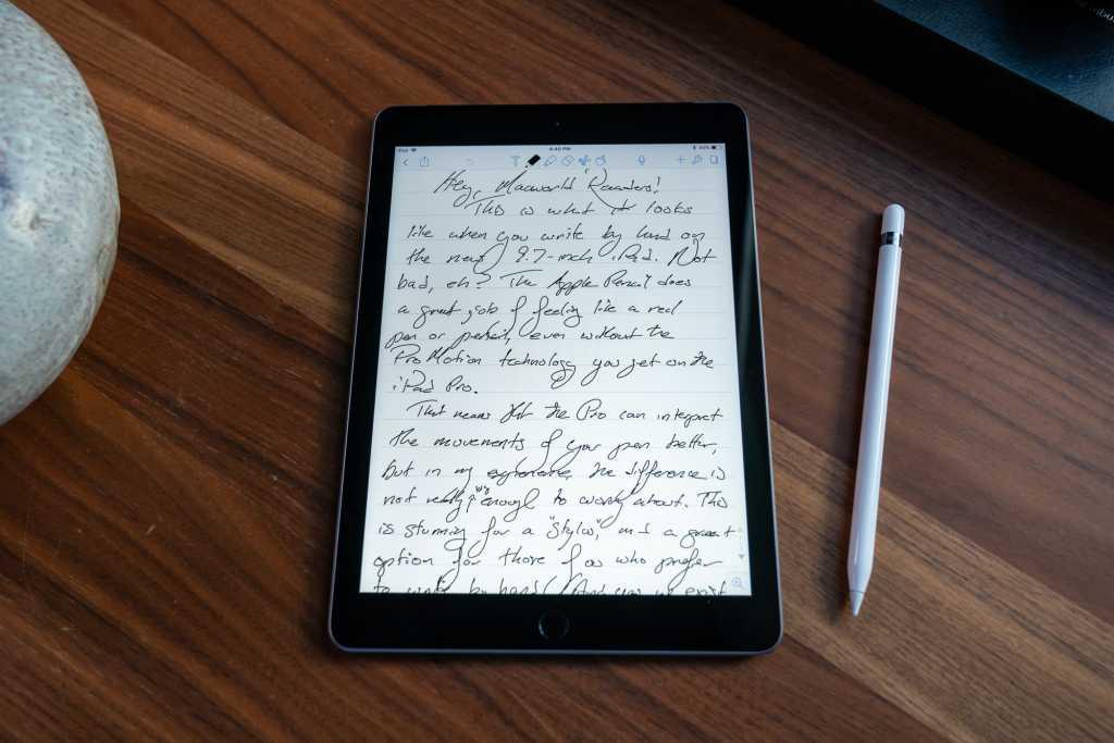 Notability on iPad