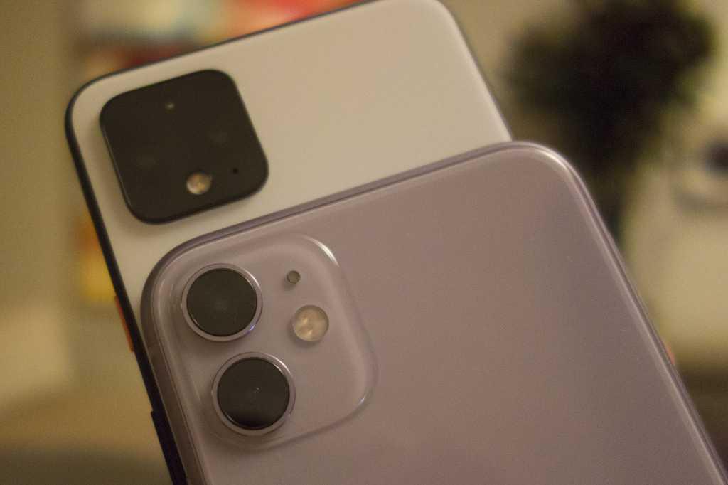 pixel 4 iphone 11 camera