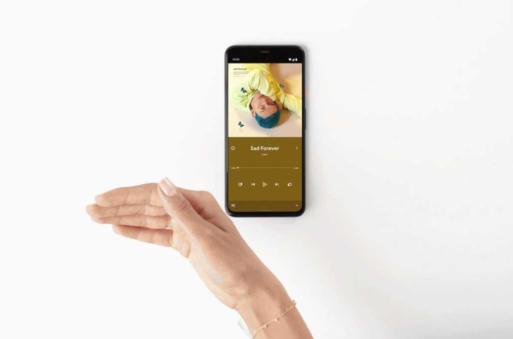 pixel 4 swipe