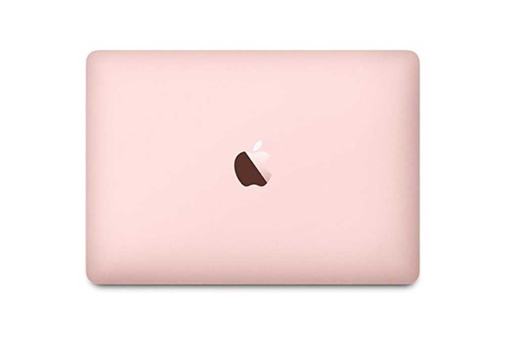 rose gold macbook 12 inch
