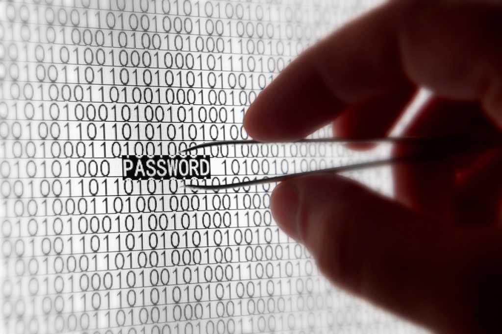 stealing a password