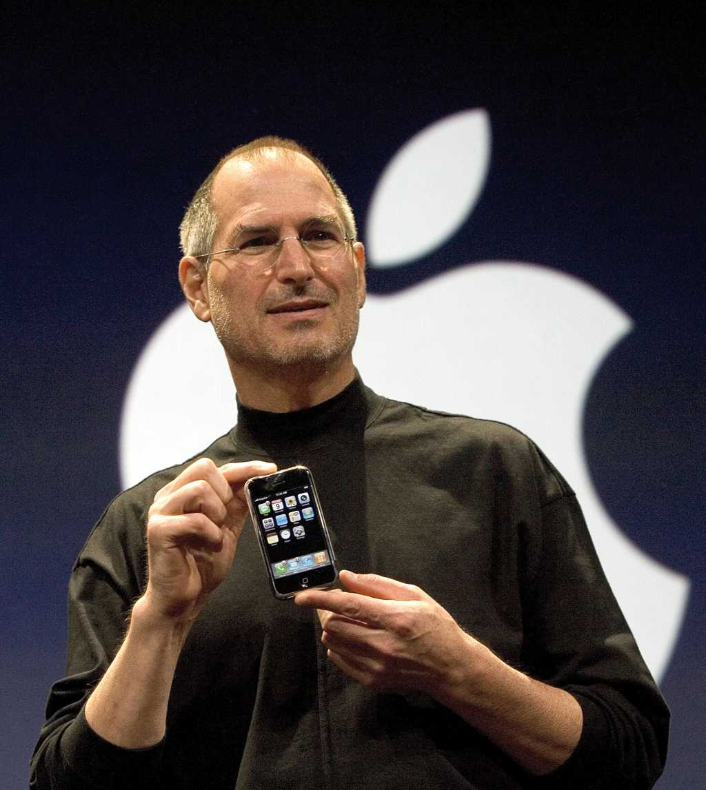steve jobs iphone launch
