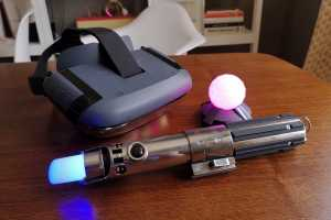 Star Wars: Jedi Challenges review: Lightsaber-swinging, augmented reality fun
