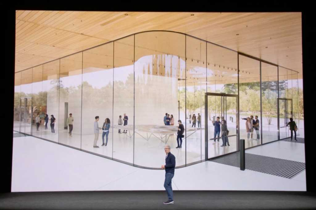 tim cook iphone x event