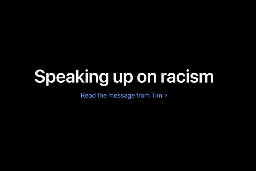 tim cook racism