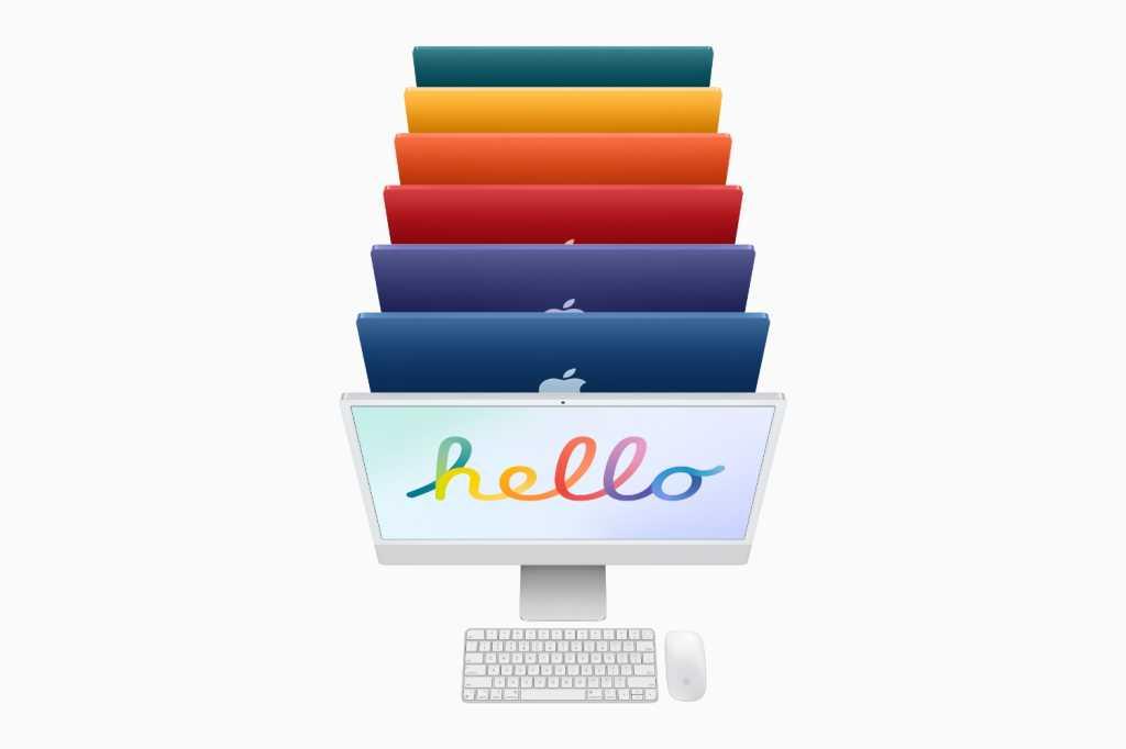 m1 iMac hello