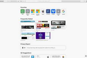 How to customize the Safari start page in macOS Big Sur 11.3