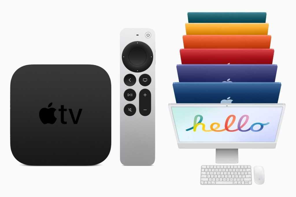 Apple TV 24 inch iMac