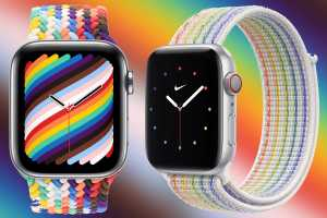 Apple launches new Pride Edition watch bands to support LGBTQ+ rights