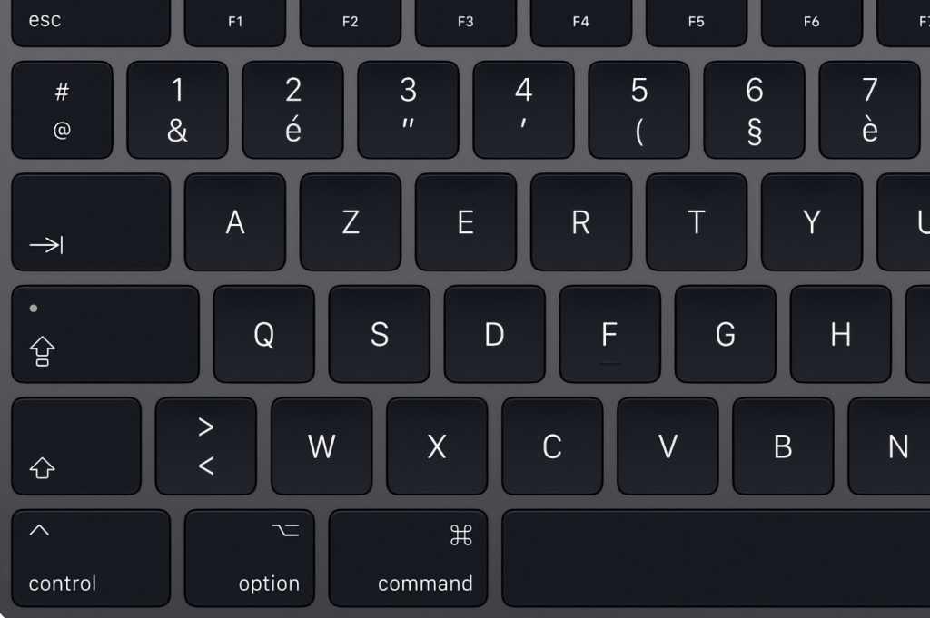 Mac keyboard French