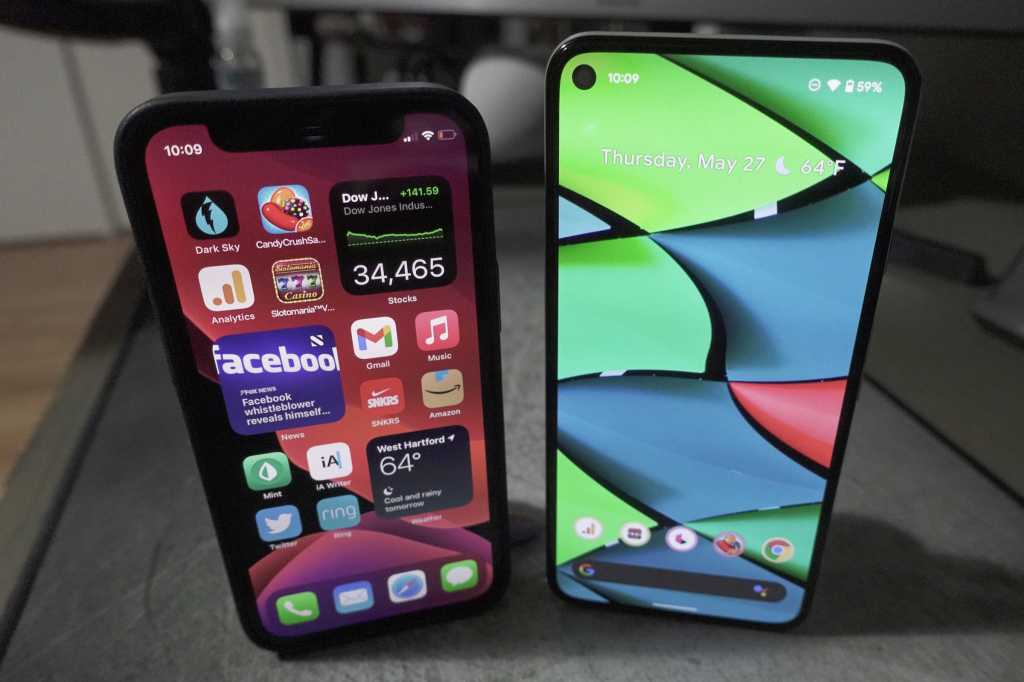 iPhone android 12