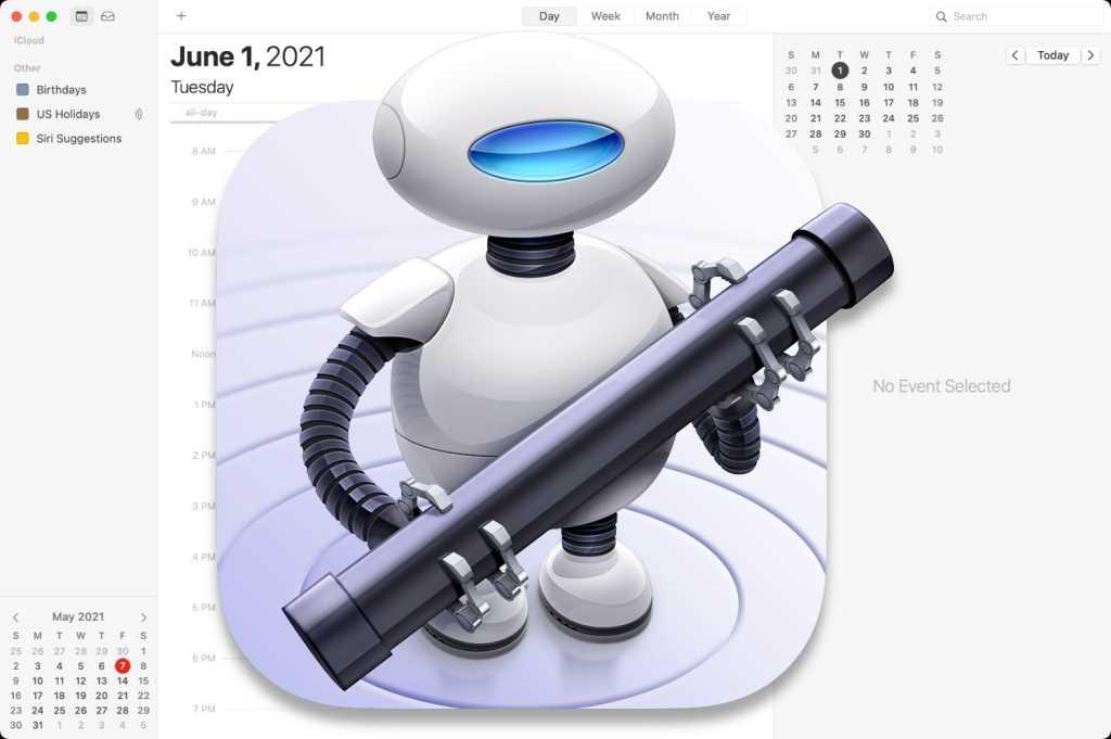 Mac Automator Calendar