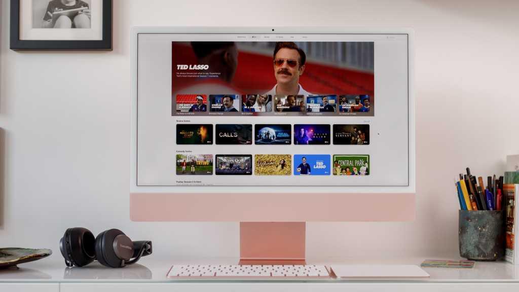 24-inch iMac Pink 2021