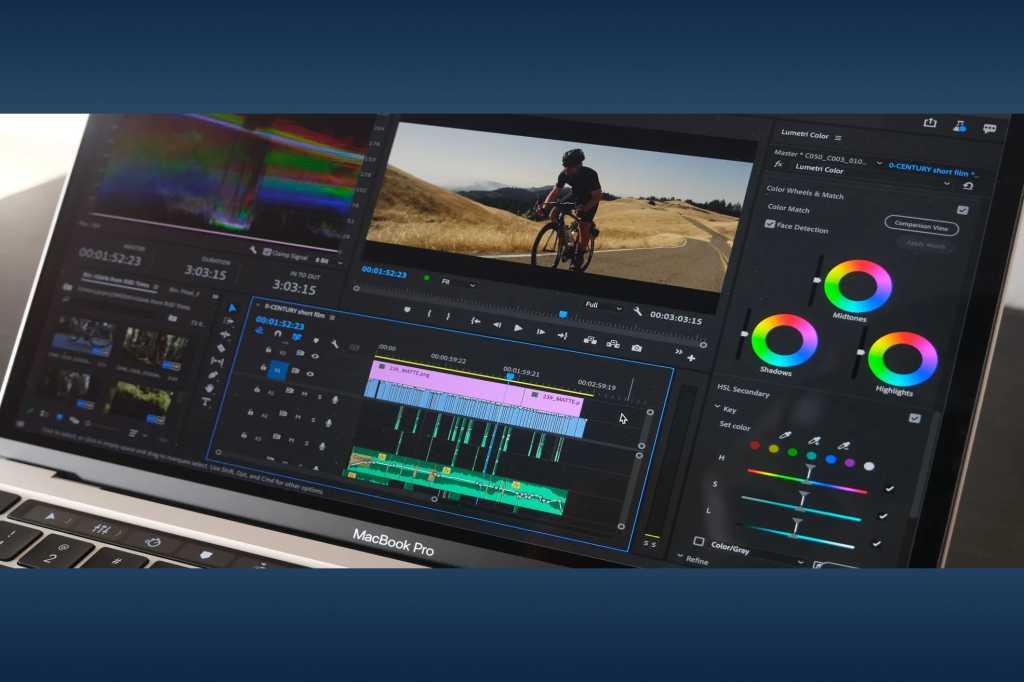 Premiere on MacBook Pro