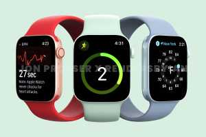 Apple Watch Series 7 takes shape with an upgraded screen, no new health features