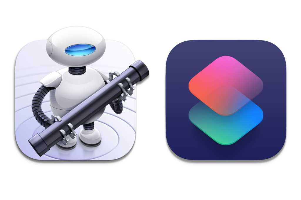 Automator Shortcuts macOS icons