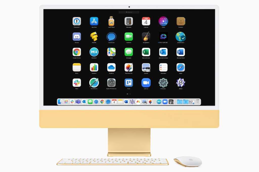 iMac Launchpad Big Sur